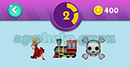 Emojination 3D: EmojiBooks 1 Puzzle 2 Dancer, Train, Danger Answer