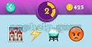 Emojination 3D: EmojiBooks 2 Puzzle 2 Photo, Lightning, Dish, Emoji Answer