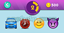 Emojination 3D: EmojiBooks 5 Puzzle 2 Car, Clock, Emoji, Emoji Answer