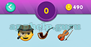Emojination 3D: EmojiBooks 5 Puzzle 0 Man, Cigar, Guitar Answer