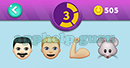 Emojination 3D: EmojiBooks 5 Puzzle 3 Man, Man, Muscle, Mouse Answer