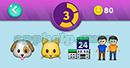 Emojination 3D: EmojiMusic 4 Puzzle 3 Dog, Cat, House, Friends Answer