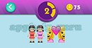 Emojination 3D: EmojiMusic 4 Puzzle 2 Friends, Girl And Girl Answer