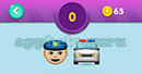 Emojination 3D: EmojiMusic 4 Puzzle 0 Policeman, Jeep Answer