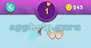 Emojination 3D: Level 15 Puzzle 1 Shower, Hands Answer
