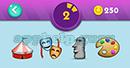 Emojination 3D: Level 15 Puzzle 2 Tent, Masks, Mask, Dyes Answer