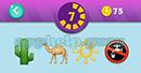 Emojination 3D: Level 23 Puzzle 7 Cactus, Camel, Ship Wheel, Sign Answer