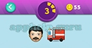 Emojination 3D: Level 23 Puzzle 3 Man, Fire Brigade Answer