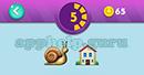 Emojination 3D: Level 23 Puzzle 5 Snail, House Answer