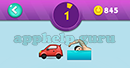 Emojination 3D: Level 3 Puzzle 1 Car, Swimming Answer