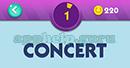 Emojination 3D: Level 32 Puzzle 1 Concert Answer