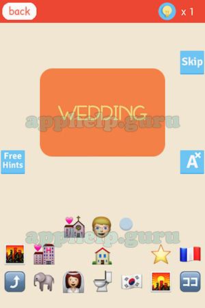 Find The Emoji Wedding.Find The Emoji Level Wedding Answer Game Help Guru