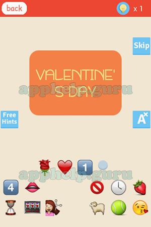 Find The Emoji Level Valentine S Day Answer Game Help Guru