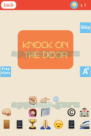 First Letter: K Level Knock on the door Answer
