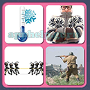 4 Pics 1 Song (Game Circus): Group 101 Level 12 Answer