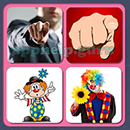 4 Pics 1 Song (Game Circus): Group 103 Level 1 Answer