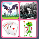 4 Pics 1 Song (Game Circus): Group 103 Level 10 Answer