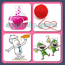 4 Pics 1 Song (Game Circus): Group 104 Level 11 Answer