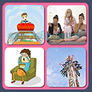 4 Pics 1 Song (Game Circus): Group 104 Level 12 Answer