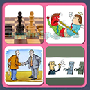 4 Pics 1 Song (Game Circus): Group 104 Level 14 Answer