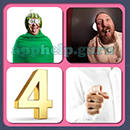 4 Pics 1 Song (Game Circus): Group 104 Level 4 Answer