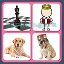 4 Pics 1 Song (Game Circus): Group 106 Level 13 Answer