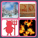 4 Pics 1 Song (Game Circus): Group 106 Level 3 Answer