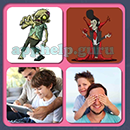 4 Pics 1 Song (Game Circus): Group 106 Level 6 Answer