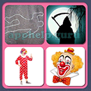 4 Pics 1 Song (Game Circus): Group 111 Level 15 Answer