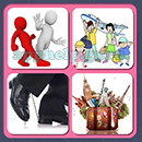 4 Pics 1 Song (Game Circus): Group 114 Level 15 Answer