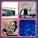 4 Pics 1 Song (Game Circus): Group 114 Level 2 Answer
