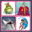 4 Pics 1 Song (Game Circus): Group 116 Level 16 Answer