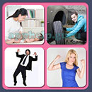 4 Pics 1 Song (Game Circus): Group 120 Level 12 Answer