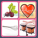 4 Pics 1 Song (Game Circus): Group 2 Level 13 Answer