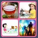 4 Pics 1 Song (Game Circus): Group 20 Level 14 Answer