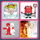4 Pics 1 Song (Game Circus): Group 25 Level 7 Answer