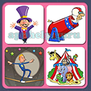 4 Pics 1 Song (Game Circus): Group 26 Level 12 Answer