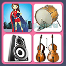 4 Pics 1 Song (Game Circus): Group 3 Level 2 Answer