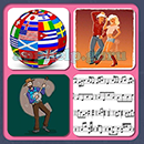 4 Pics 1 Song (Game Circus): Group 31 Level 14 Answer