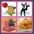 4 Pics 1 Song (Game Circus): Group 33 Level 13 Answer