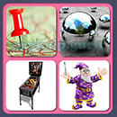 4 Pics 1 Song (Game Circus): Group 35 Level 10 Answer