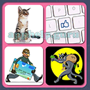 4 Pics 1 Song (Game Circus): Group 42 Level 13 Answer