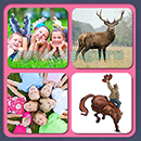 4 Pics 1 Song (Game Circus): Group 43 Level 12 Answer