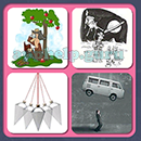 4 Pics 1 Song (Game Circus): Group 43 Level 15 Answer