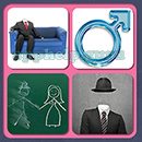 4 Pics 1 Song (Game Circus): Group 45 Level 6 Answer