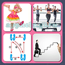4 Pics 1 Song (Game Circus): Group 46 Level 1 Answer