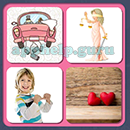 4 Pics 1 Song (Game Circus): Group 48 Level 11 Answer