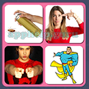 4 Pics 1 Song (Game Circus): Group 5 Level 16 Answer