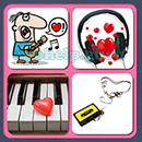 4 Pics 1 Song (Game Circus): Group 52 Level 3 Answer