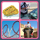 4 Pics 1 Song (Game Circus): Group 52 Level 8 Answer